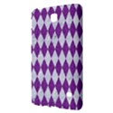 DIAMOND1 WHITE MARBLE & PURPLE DENIM Samsung Galaxy Tab 4 (7 ) Hardshell Case  View2