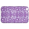 DAMASK2 WHITE MARBLE & PURPLE DENIM (R) Samsung Galaxy Tab 3 (8 ) T3100 Hardshell Case  View1