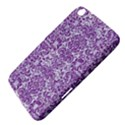 DAMASK2 WHITE MARBLE & PURPLE DENIM (R) Samsung Galaxy Tab 3 (8 ) T3100 Hardshell Case  View4