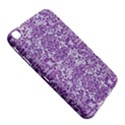 DAMASK2 WHITE MARBLE & PURPLE DENIM (R) Samsung Galaxy Tab 3 (8 ) T3100 Hardshell Case  View5