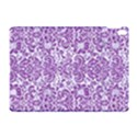 DAMASK2 WHITE MARBLE & PURPLE DENIM (R) Apple iPad Pro 10.5   Hardshell Case View1