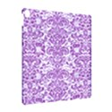 DAMASK2 WHITE MARBLE & PURPLE DENIM (R) Apple iPad Pro 10.5   Hardshell Case View2