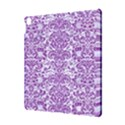 DAMASK2 WHITE MARBLE & PURPLE DENIM (R) Apple iPad Pro 10.5   Hardshell Case View3
