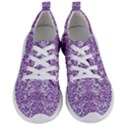 DAMASK2 WHITE MARBLE & PURPLE DENIM (R) Women s Lightweight Sports Shoes View1