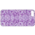 DAMASK2 WHITE MARBLE & PURPLE DENIM Apple iPhone 5 Classic Hardshell Case View1