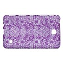 DAMASK2 WHITE MARBLE & PURPLE DENIM Samsung Galaxy Tab 4 (7 ) Hardshell Case  View1