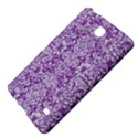 DAMASK2 WHITE MARBLE & PURPLE DENIM Samsung Galaxy Tab 4 (7 ) Hardshell Case  View4