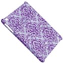 DAMASK1 WHITE MARBLE & PURPLE DENIM (R) Apple iPad Mini Hardshell Case View5