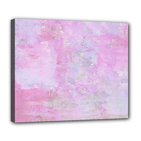 Soft Pink Watercolor Art Deluxe Canvas 24  X 20   by yoursparklingshop