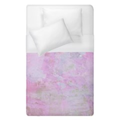 Soft Pink Watercolor Art Duvet Cover (single Size)