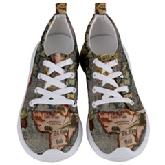Vintage Map Women s Lightweight Sports Shoes