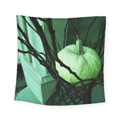 Pumpkin 7 Square Tapestry (small) by bestdesignintheworld