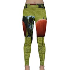 Pumpkins 10 Classic Yoga Leggings