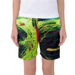 Abandoned Mine 3 Women s Basketball Shorts