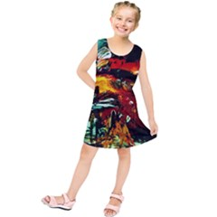 Grand Canyon Sunset Kids  Tunic Dress