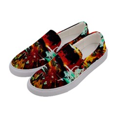 Grand Canyon Sunset Women s Canvas Slip Ons by bestdesignintheworld