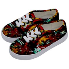 Grand Canyon Sunset Kids  Classic Low Top Sneakers by bestdesignintheworld