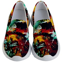 Grand Canyon Sunset Kid s Lightweight Slip Ons by bestdesignintheworld