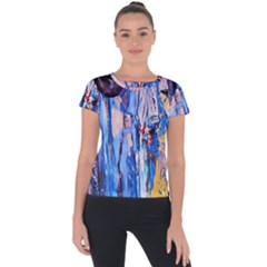 1 Short Sleeve Sports Top  by bestdesignintheworld