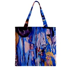 Point Of View 3/1 Zipper Grocery Tote Bag by bestdesignintheworld