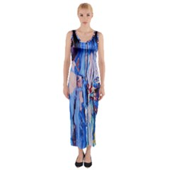 Point Of View 3/1 Fitted Maxi Dress by bestdesignintheworld