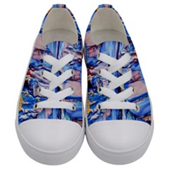 Point Of View 3/1 Kids  Low Top Canvas Sneakers