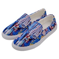 Point Of View 3/1 Men s Canvas Slip Ons by bestdesignintheworld