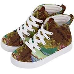 Doves Matchmaking 2 Kid s Hi Top Skate Sneakers by bestdesignintheworld