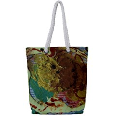 Doves Matchmaking 2 Full Print Rope Handle Tote (small) by bestdesignintheworld