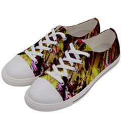 Absurd Theater In And Out 12 Women s Low Top Canvas Sneakers by bestdesignintheworld