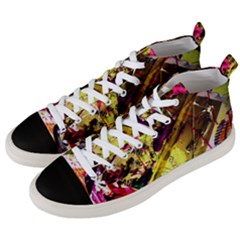 Absurd Theater In And Out 12 Men s Mid Top Canvas Sneakers by bestdesignintheworld