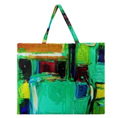 Marakesh 9 Zipper Large Tote Bag by bestdesignintheworld
