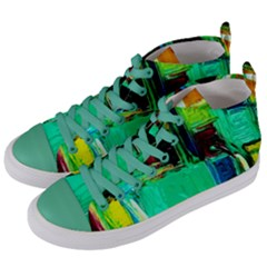 Marakesh 9 Women s Mid Top Canvas Sneakers by bestdesignintheworld