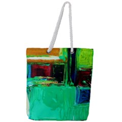 Marakesh 9 Full Print Rope Handle Tote (large) by bestdesignintheworld