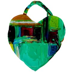 Marakesh 9 Giant Heart Shaped Tote by bestdesignintheworld
