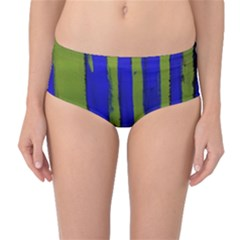 Stripes 4 Mid Waist Bikini Bottoms by bestdesignintheworld