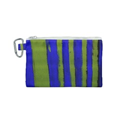 Stripes 4 Canvas Cosmetic Bag (small) by bestdesignintheworld