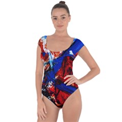 Mixed Feelings 9 Short Sleeve Leotard  by bestdesignintheworld