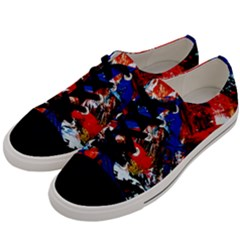 Mixed Feelings 9 Men s Low Top Canvas Sneakers by bestdesignintheworld