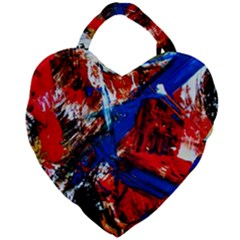 Mixed Feelings 9 Giant Heart Shaped Tote by bestdesignintheworld
