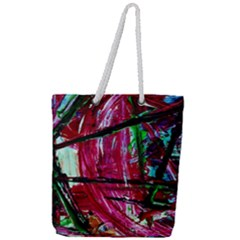 Sacred Knowledge 9 Full Print Rope Handle Tote (large) by bestdesignintheworld