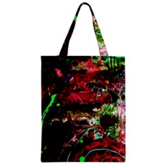 Bloody Coffee 2 Zipper Classic Tote Bag by bestdesignintheworld