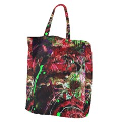 Bloody Coffee 2 Giant Grocery Zipper Tote by bestdesignintheworld