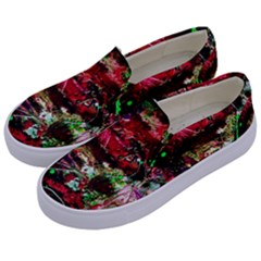 Bloody Coffee 2 Kids  Canvas Slip Ons by bestdesignintheworld