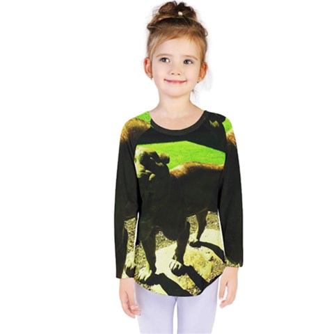 Guard 2 Kids  Long Sleeve Tee by bestdesignintheworld