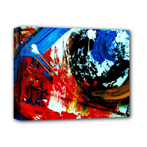 Mixed Feelings 4 Deluxe Canvas 14  X 11  by bestdesignintheworld