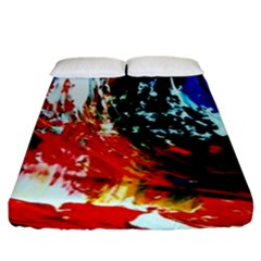 Mixed Feelings 4 Fitted Sheet (king Size) by bestdesignintheworld
