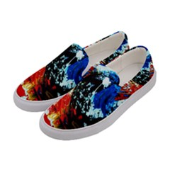 Mixed Feelings 4 Women s Canvas Slip Ons by bestdesignintheworld