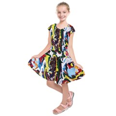 Inposing Butterfly 1 Kids  Short Sleeve Dress by bestdesignintheworld