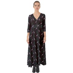 Magpies Button Up Boho Maxi Dress by treegold